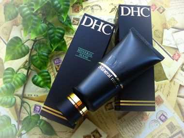 Today's beauty notes-DHCミネラルマスク