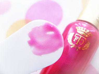 Today's beauty notes-UVパーフェクト リップグロス