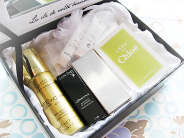 Today's beauty notes-トレゾアボックス 第1回目