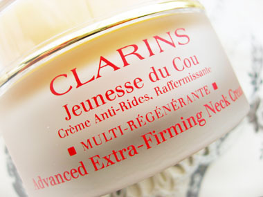 Today's beauty notes-クラランスのネッククリーム