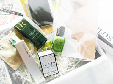 Today's beauty notes-グロッシーボックス×ヴォーグ