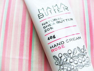 ママバターのハンドクリーム