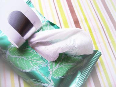 ハウスオブローゼ ミントリープ ボディ クールシート|パワフルな清涼感のボディ拭き取りシート