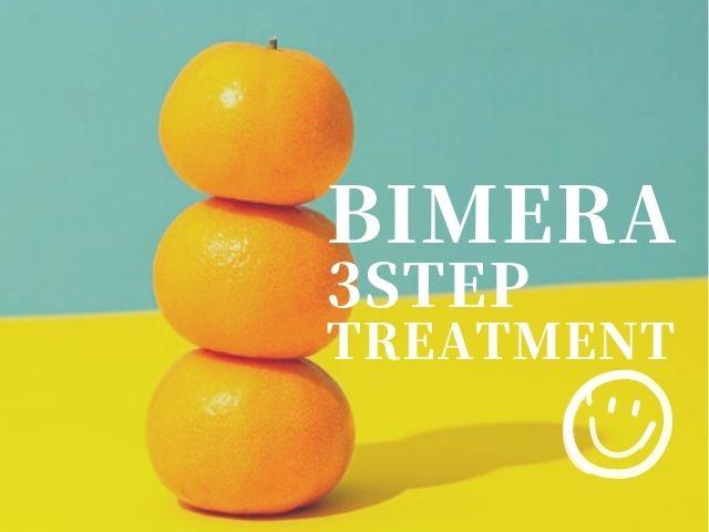 サロン専売「BIMERA」で3ステップトリートメント|自宅で週1ケア